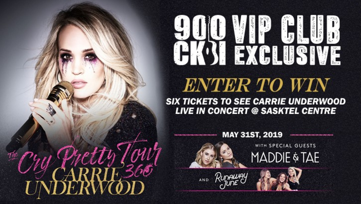 Win Carrie Underwood Tickets 900 Ckbi